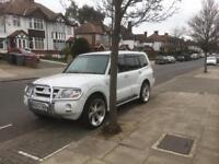 Mitsubishi Pajero v6 petrol auto LPG for export Spares or repair