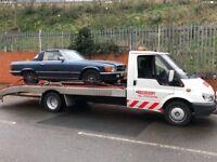 Car Van Recovery Transportation Service towing Jump Starts