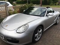2006 PORSCHE BOXSTER FULL MOTD, FULL SERVICE HISTORY AND LOTS OF PAPERWORK AND 3 KEYS