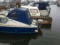 Fairline canal river boat