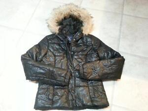 Girl's  Black Dressy Bluenotes Winter Jacket EUC Meduim Cambridge Kitchener Area image 1