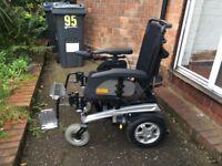 Pride fusion electric power chair (wheelchair)