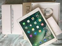 iPad Air 1 Cellular Unlocked silver Excellent condition boxed
