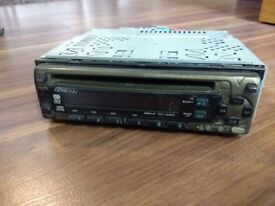 Kenwood car CD radio and Clarion 6 disc CD changer