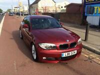 BMW 1 SERIES (red) 2011