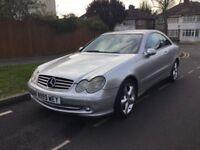 Mercedes clk 200 only £2395
