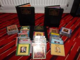 Great composers 40 cd set and magazines.