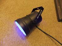 BEAMZ LED UV Ultra Violet PAR 36 CAN DMX