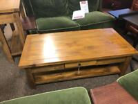 Single drawer coffee table * free furniture delivery *