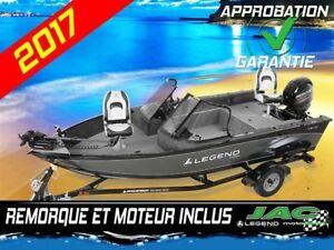 2017 Legend Boats Bateau 16 FX Mercury 40 EL Chaloupe pêche **Pr