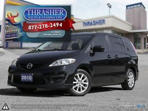 2010 Mazda MAZDA5 GS, 6 Passenger, Alloys, and more!