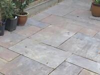 Autumn Brown Indian Sandstone Paving slabs