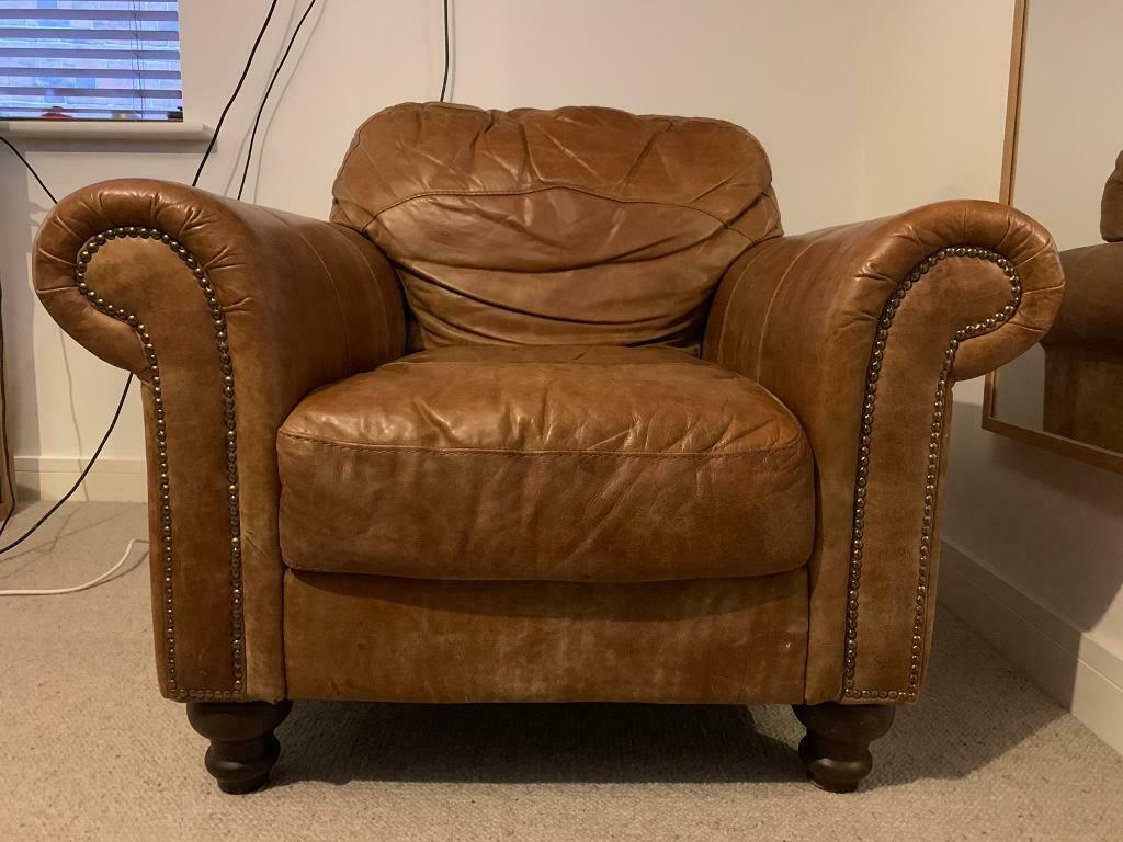 DFS Leather Armchair in excellent condition | in Caversham ...