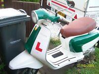 Nearly New Lambretta mint condition.