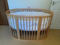 Stokke Sleepi Cot Mini and Bed extension