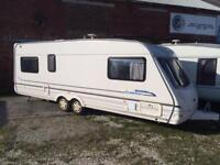 5 BERTH TWIN WHEEL STERLING ELITE FULL AWNING WITH END BEDROOM AND WE CAN DELIVE