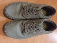 Never worn Genuine grey vans size 6.5