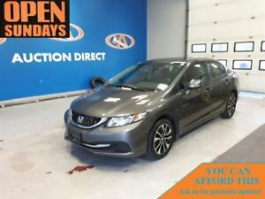 2013 Honda Civic EX SUNROOF! ALLOYS! FINANCE NOW!