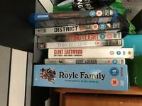5 dvds and a blu ray