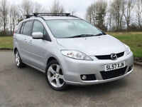 57 MAZDA 5 SPORT 2.0 7 SEATER MPV 2 OWNERS FROM NEW, ROOF RACK, 12 MONTHS MOT, MAZDA SERVICE HISOTRY