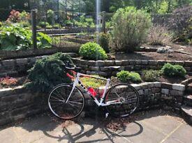 Cube Attain Pro - Road Bike - White/Black - 58 cm frame