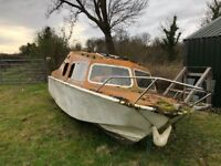 Free old boat to collect only