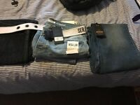 3 pairs of brand new jeans with tags on. 34w x2 and 1x 36 waist