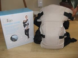 Mothercare 3 Position Baby Carrier –Beige