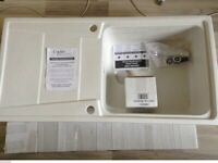 B&Q Cooke & Lewis kitchen sink ( new )