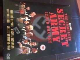 SECRET ARMY Complete 12 Disc DVD Box Set