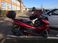 HONDA PCX125 -- LOW MILEAGE -- GREAT COMMUTER OR DELIVERY BIKE