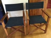 Chairs, Folding Chairs, CHILDRENS CHAIRS, DIRECTORS CHAIRS, childrens furniture, BLACK, NATURAL WOOD