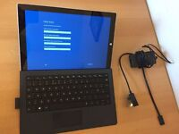 Microsoft Surface Pro 3 i7/8GB/256GB SSD with Typecover & Pen £450