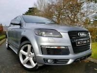 Nov 2007 Audi Q7 S Line Quattro 3.0 V6 Tdi 240bhp Auto 7 Seater! Full MOT! FINANCE/WARRANTY