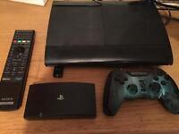 PS3 super slim 500gb + extras