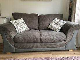 DFS Sofa, Grey, Very Good Condition.