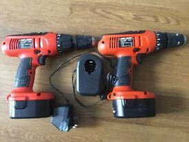 Black & Decker KC1482F 14.4V Cordless Hammer Drill