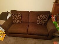 Double Sofabed Chocolate Brown (Furniture Village)