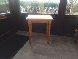 Wooden Lamp Table