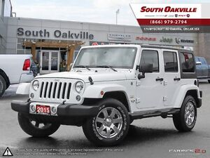 2015 Jeep Wrangler Unlimited Sahara | 4X4 | BLUETOOTH | DUAL TOP