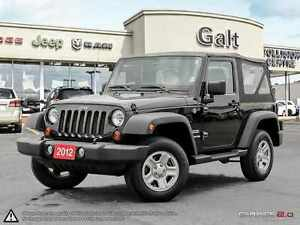 2012 Jeep Wrangler SPORT | LOCAL TRADE IN | ONLY $163 BI-WEEKLY*