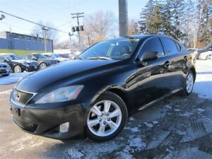 2006 Lexus IS 250 6 SPEED MANUAL~NAVIGATION~WARRANTY AVAILABLE !