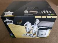 Tommee tippee express and go complete breast milk starter set