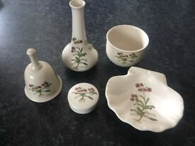 Poole Pottery Country Lane Ornaments In Excellent Condition