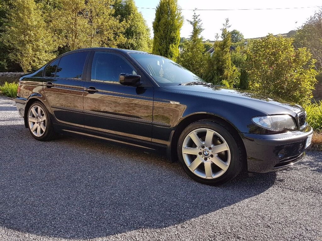 bmw 320d se 3 series e46 2004 metallic black in newton abbot devon gumtree. Black Bedroom Furniture Sets. Home Design Ideas