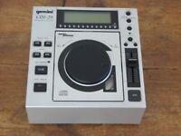 Gemini CDJ-20 Professional CD Player. Pitch Control. Anti Shock Buffer. For DJ Use. CDJ20.
