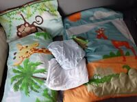 Jungle bedding set *collection only*
