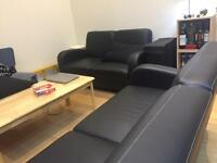 Free delivery 2 brand new sofas!