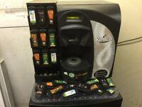Hot drinks machine