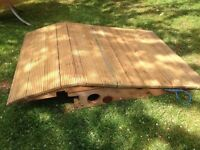 Wheelchair Ramp for garden access